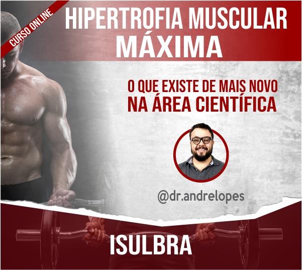 Curso para CURSO HIPERTROFIA MUSCULAR - ONLINE