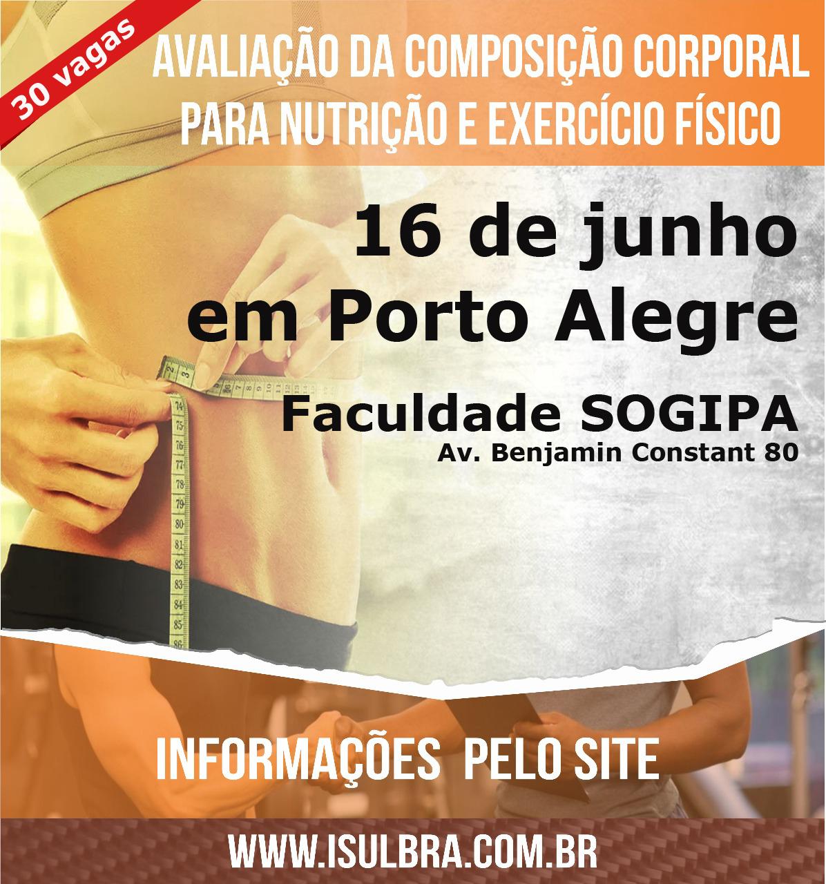 Curso para Curso composição corporal em Porto Alegre