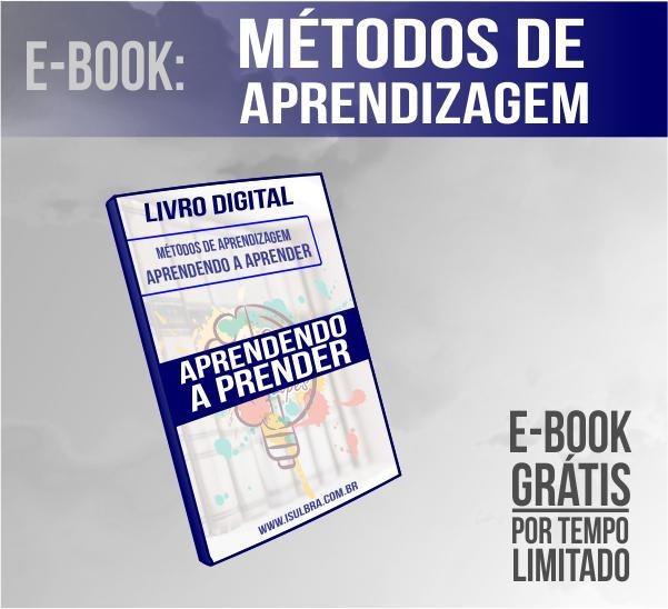 Curso para E-book GRÁTIS  sobre como potencializar sua aprendizagem!